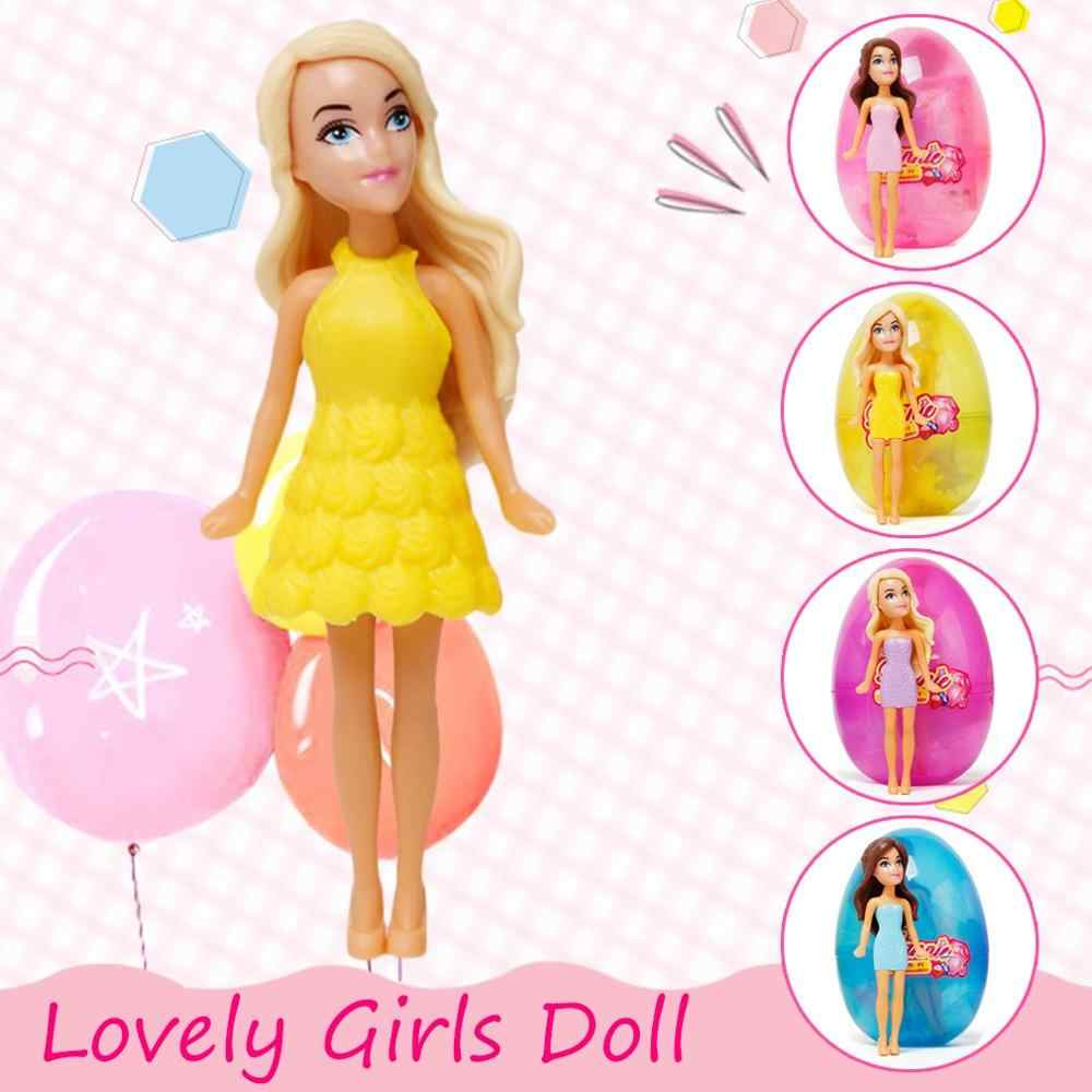 Hot Dolls Playhouse Girl Magic Egg Ball Doll Toy Beautiful baby Dress Up