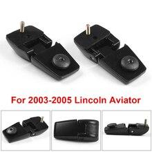 Lincoln Aviator için 2003 2005 sol sağ bagaj kapağı arka pencere camı menteşeleri bir çift 3C5Z78420A69AA 3C5Z78420A68AA