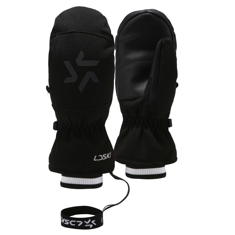 Kayak eldivenleri LDSKI Bijou serisi kayak eldivenleri snowboard eldiveni hafif su geçirmez yumuşak astar örgü manşetleri lazer işareti