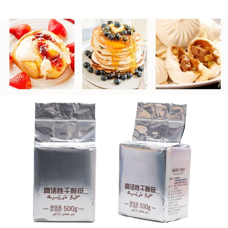 500g Bread Yeast Active Dry Yeast High Sugar Tolerant Yeast Baking Supplies