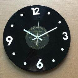 Kreatywne płyty winylowe wiszący zegar salon biblioteka Retro LP zegar ścienny kreatywny CD jing yin zhong zegary ścienne