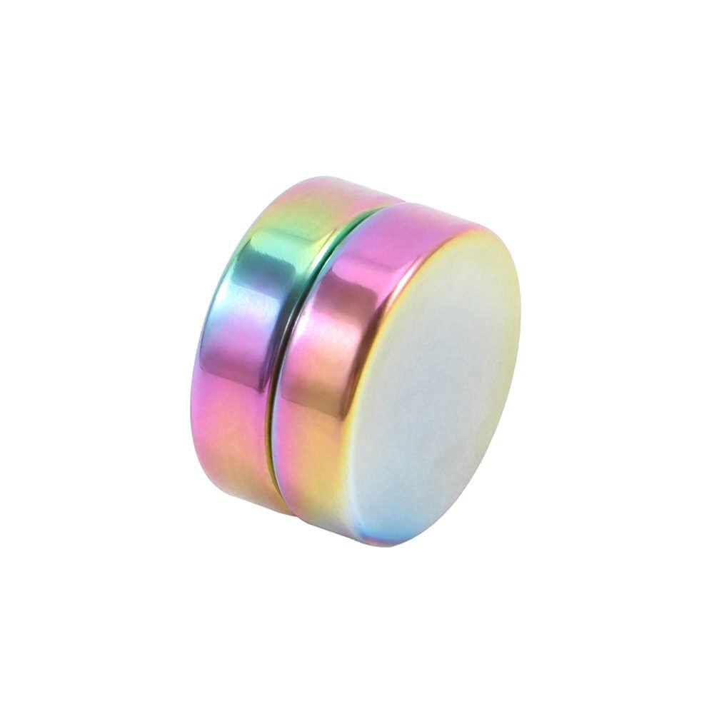 1 Pc Punk Cerchio Orecchio Clip di Forte Magnete Magnetico Circa 6 Mm/8 Mm/10 Millimetri Mens Delle Donne orecchini Non Penetranti Dei Monili Del Regalo di 5 Colori