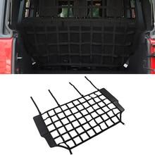 Dog Barrier Protection Isolation Pet Net Trunk Safety Mesh for Jeep Wrangler JK JL JT 2007 2019 2020 2021 2022 PVC Car Accessory