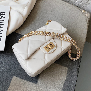 Solid Color Simple Small PU Leather Crossbody Bags For Women 2020 Summer Elegant Shoulder Handbags Female Travel Bags