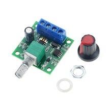 1 adet DC 1.8V 3V 5V 6V 12V 2A Motor hız kontrol alçak gerilim Motor hız kontrol cihazı 0-100% ayarlanabilir sürücü modülü