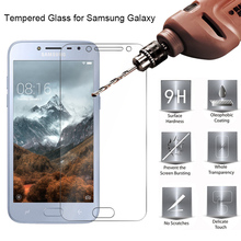 Tempered Glass Protective Glass for Samsung J8 J7 J6 J4 Plus J3 9H HD Toughed Screen Protector on Galaxy Note 7 5 4 3 2 protective tempered glass screen guard membrane for samsung note 4 transparent