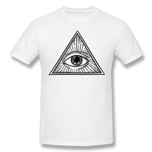 Simbolo del padre eterno t camisas dos homens de algodão manga curta t-shirts o pescoço casual camiseta alta qualidade topos branco s roupas
