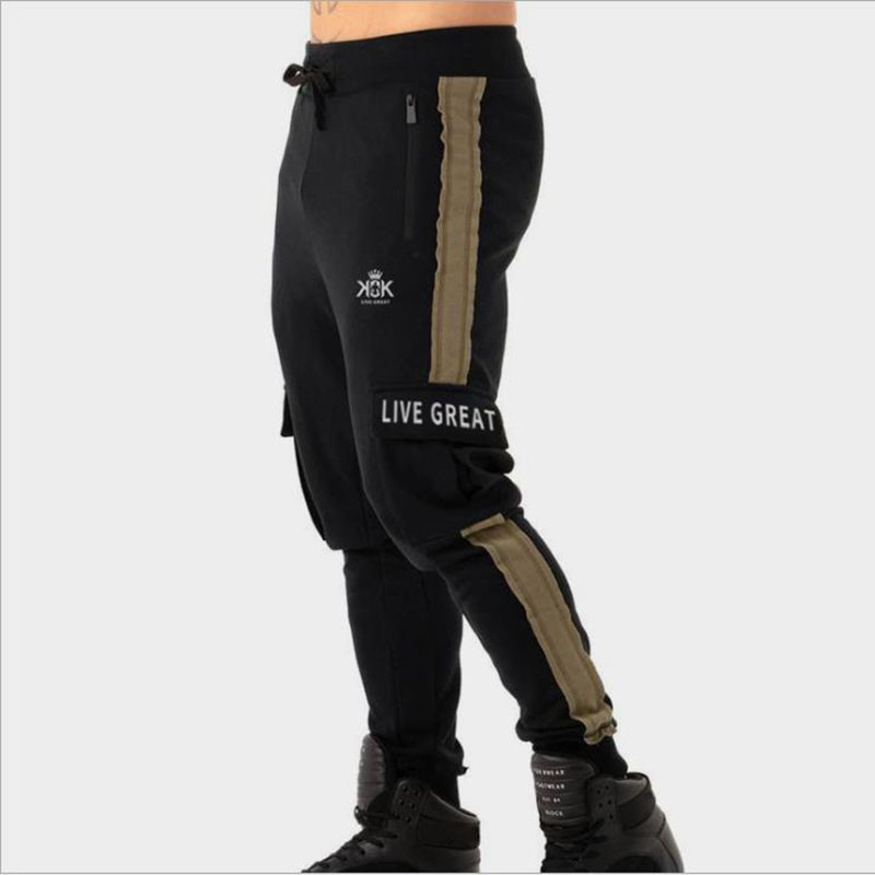 Japanese Streetwear Pockets Jogger Pants Men 2019 Overalls Mens Hip Hop Summer Pants Male Ankel-lengthe Sweaptpants