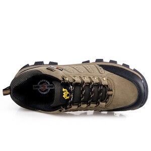Image 5 - חם פופולרי גברים נשים חיצוני הליכה, זוגות נעלי טיפוס הרים, באיכות גבוהה ספורט טרקים נעליים, לעבוד נעליים