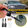 Жидкость для ремонта автомобильных стекол, инструмент «сделай сам» для восстановления царапин и трещин на лобовом стекле