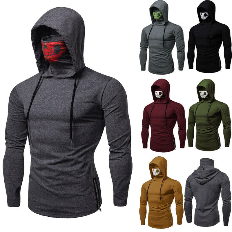 Cheap!Winter Mens Hooded Hoodies Sweatshirt Sweater Jumper Outwear Coat Tops Hot