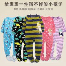 Комбинезон флисовый для мальчиков и девочек, Детская Пижама размера XL, одежда для малышей, комбинезон без боди для ног, весна, осень и зима