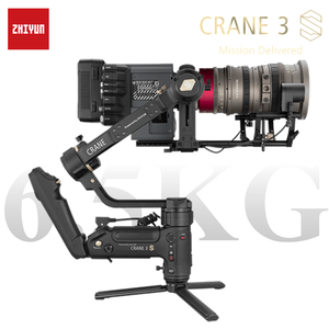 Image 1 - ZHIYUN Official Crane 3S E/Crane 3S 3 Axis Handheld Gimbal Payload 6.5KG for Video Camera  DSLR Camera Stabilizer New Arrival