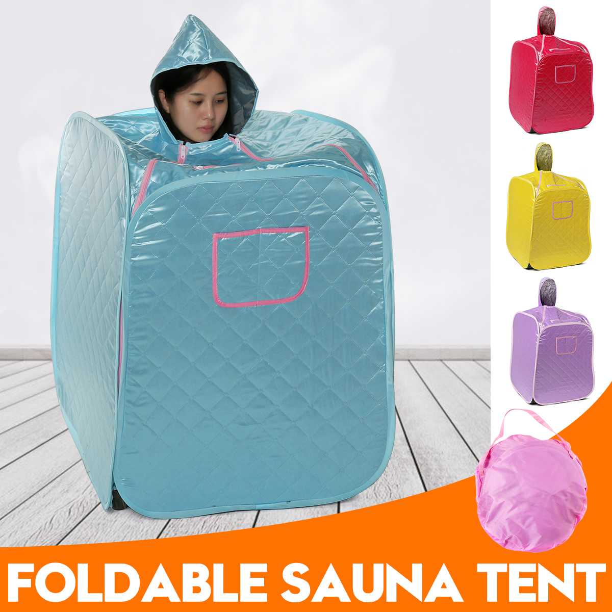 Steam Sauna Tent Portable Spa Room Home Beneficial Full Body Slimming Folding Detox Therapy Steam Fold Sauna Cabin Sauna Room