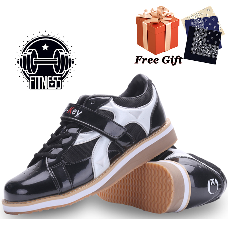 Professional men's competition weightlifting shoes daily fitness training sports shoes boxing training shoes