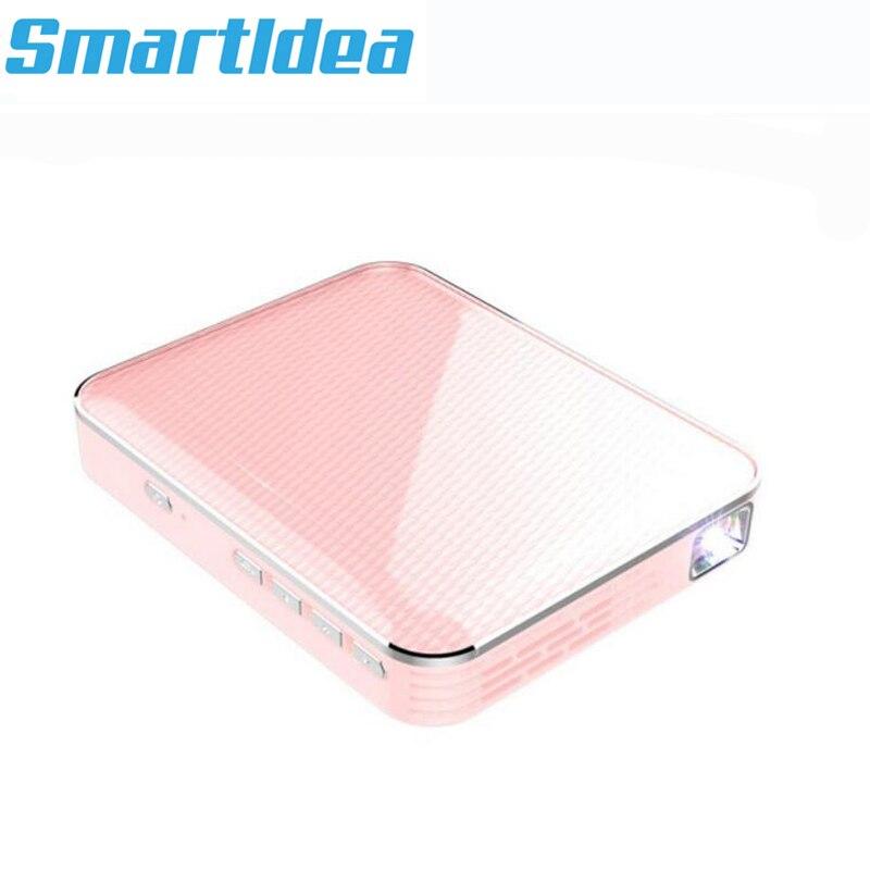 Projetor de Telefone Inteligente com Bateria com Fio Proyector de Jogos de Vídeo Super Barato Mini Mesma Tela Led Dlp Projetor Multimídia 200ansi