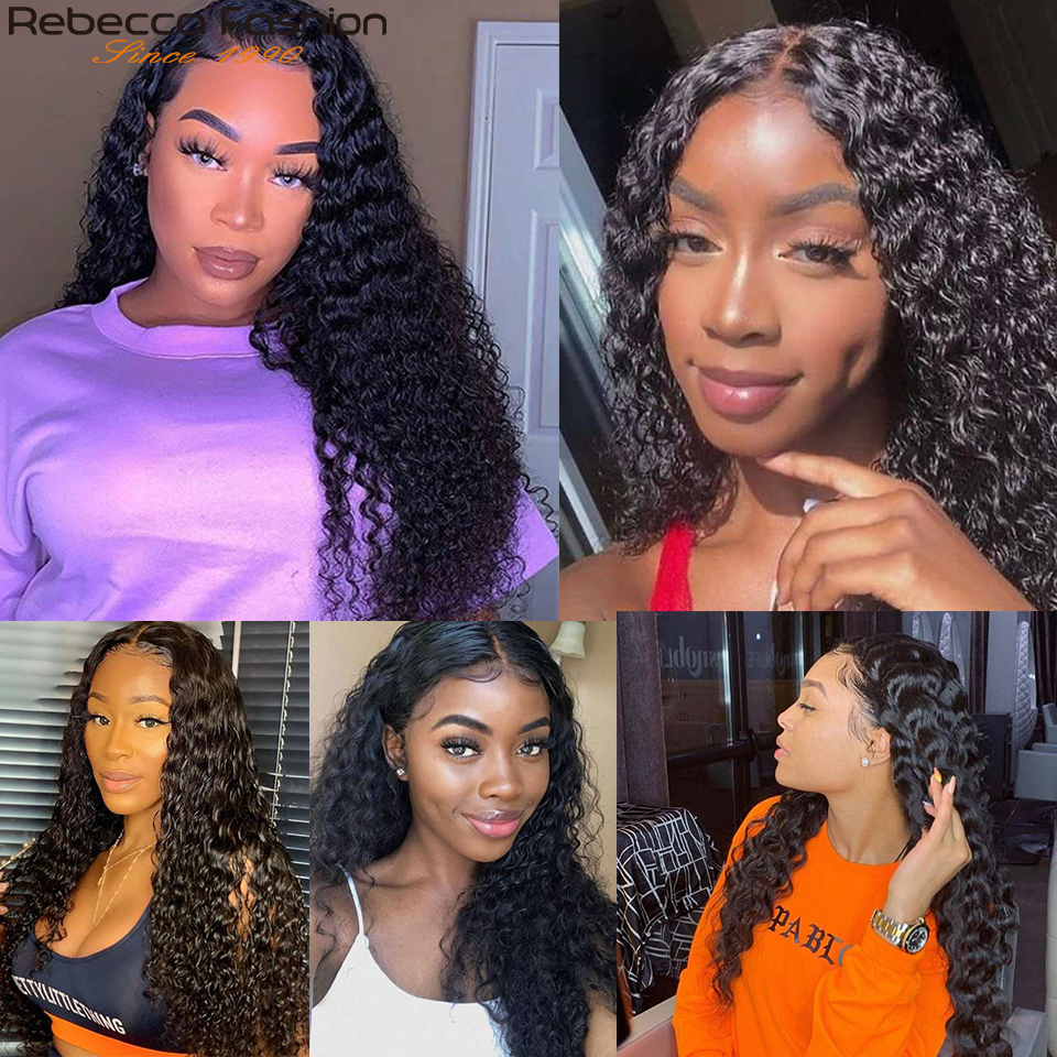 Jerry Curly Lace Front Human Hair Wig