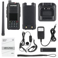 Baofeng DMR DM 1702 (GPS) Walkie Talkie VHF UHF Dual Band 137 174 & 400 470MHz Dual Time Slot Tier 1&2 Digital Radio