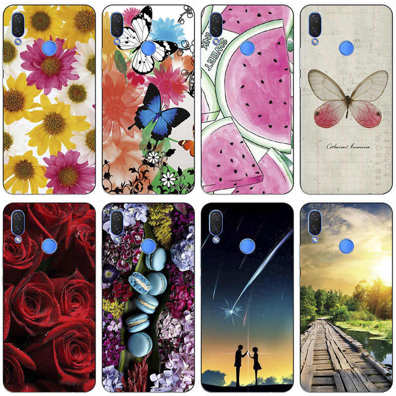 "Zachte Telefoon Case Voor Tecno Camon 11 12 Pro Camon11 6.2 ""Case Print Back Cover Mode Cartoon HD Rose patroon Shell Fundas Para"