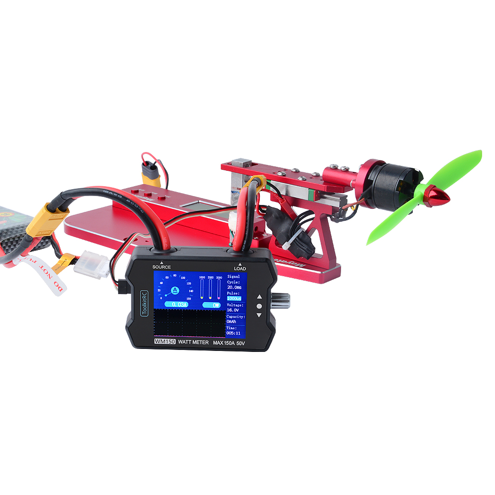 toolkitrc wm150 150a 50 v watt meter 02