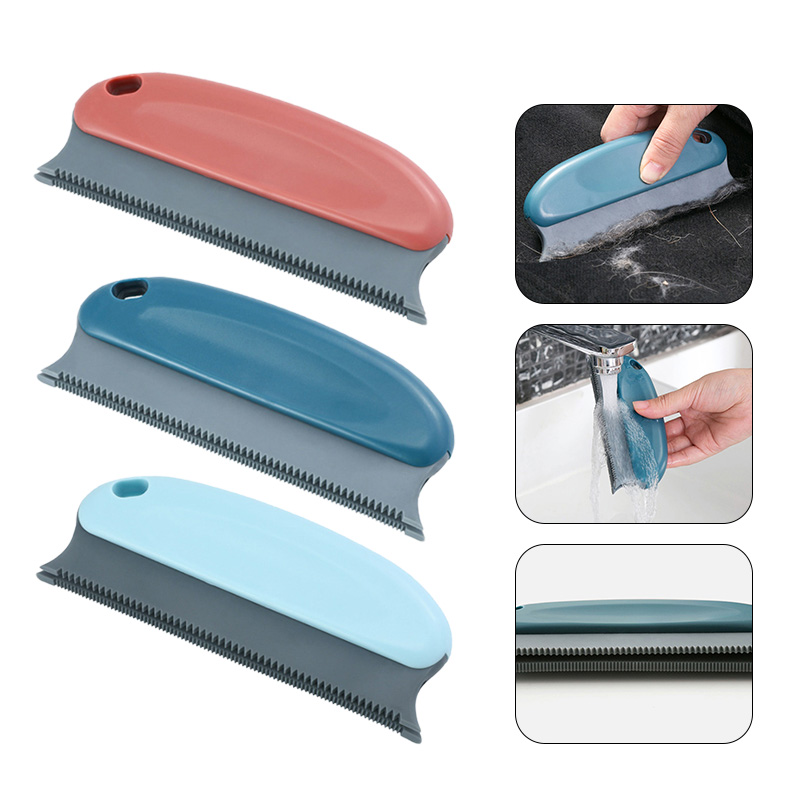 Multifunctional Cleaning Brush for Sofa Bed Seat Carpet Furniture Hair Dust Brushs Pet Hair Removal Brush Clothes Clean Tools