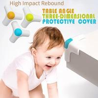 4PC Baby Table Angle Elastic Protective Cover Children Safety Corner Protector Baby Table Corner Anti Collision Edge Corner