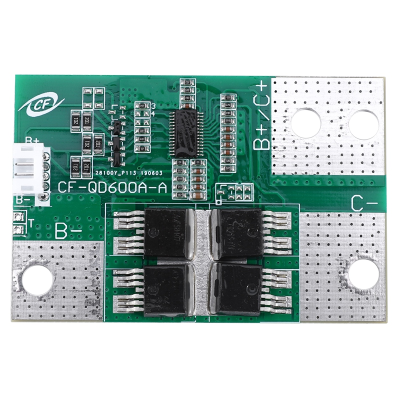 New 3S 12V 600A Car Start Power Protection Board Battery BMS PCB With Balance Board