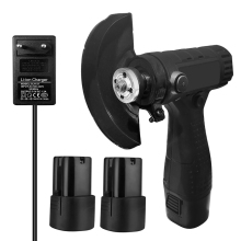 Mini Cordless Angle Grinder Rechargeable 100mm Angle Grinder Inner Outer Flange Nut Set Tools Power With Battery And Chargers