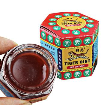 Red Tiger Ointment Balm Arthritis Joint Pain Body Massage Patches Pain Relief Plaster Ointment Headache Dizziness Essential цена 2017