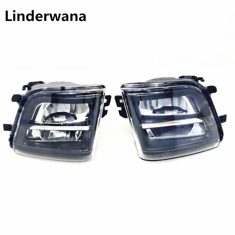 1 SET For BMW F01 F02 F03 F04 730 d  740 i 750 d 750 i 760 i  LED Fog Lamps Lights DRL 63177311287 63177311288  63 17 7 311 287