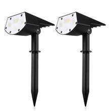 Waterproof Solar Led Light Outdoor Garden Lawn Project Landscape Lamp 20LED IP65 Emergency Modern