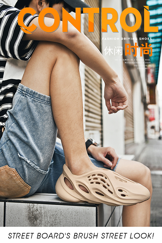 H8a518ae3dce045bf8f4c477946f53f42v - Summer Casual Shoes Men Sandals Soft Mesh Couple Beach Slippers Foam Runners Comfort Flip-flops Slipper Men Swimming Sandal