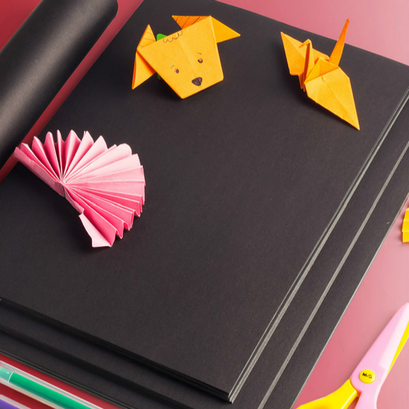 Mega Sale 309d0 A4 Black White Kraft Paper Diy Handmake