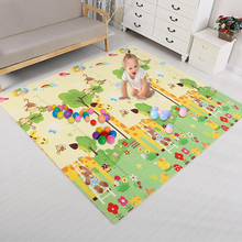 Double Surface Baby Play Mat Infantil Room Puzzle Animal Childrens Thickened Developing For Children Game Pad Toys