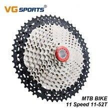 цена VG Sports 11Speed Bike Cassette Freewheel Gear 11-52T Mountain MTB Bike Sprocket Flywheel For Shimano Sram Bicycle  Accessories онлайн в 2017 году