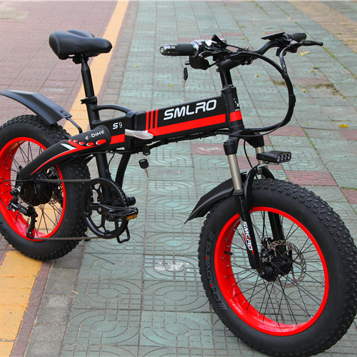 S9F 20inch folding fat electric bike 48v 350w Fat Tire Folding E-Bike For adults 1