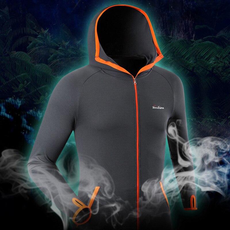 Ice Silk Breathable Fishing Jersey Summer Outdoor Running Camping Clothes Sunscreen Daiwa Prorex Anti-UV Waterproof Roupa Pesca