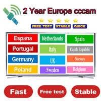 Best new DVB S2 receiver Europe cccam Spain Cccam cline for 2year europe Portugal Oscam cline Germany for TV receiver Gtmedia V8