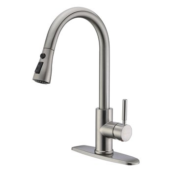 American-style Hot and Cold Water Faucet Kitchen Faucet Sink Sink Washbasin Rotating Drawer Faucet Pull Down Faucet american black three hole retro basin faucet european style washbasin bathroom hot and cold split bathtub faucet lu41316