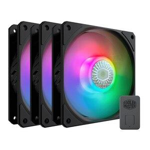 Вентилятор Cooler Master SickleFlow ARGB 3 в 1 120 мм, чехол для компьютера, вентилятор RGB 5 В/3pin, адресуемый ШИМ-вентилятор, тихий охлаждающий вентилятор для ...