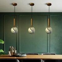 Norte da europa moderna luzes penduradas quarto lâmpada de cabeceira led luminária individual criatividade barra sala jantar luz