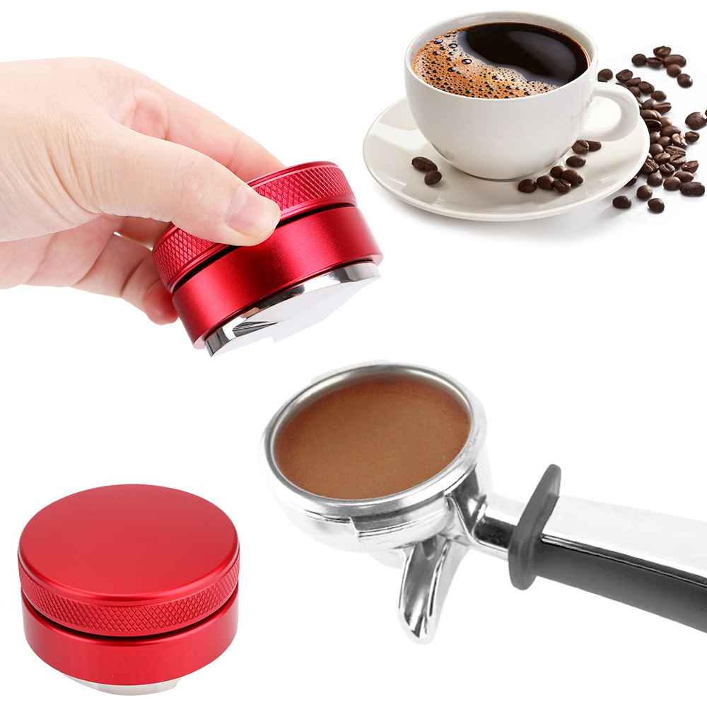 Coffee Tools 304 Stainless Steel Coffee Accessories Gadgets 51/53/58mm Coffee Distributor Professional Espresso Hand Tampers