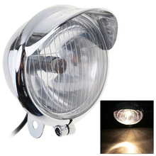 4 Inch 10W 12V Universal Motorcycle Foglight Retro Auxiliary Lamp Spotlight for Harley