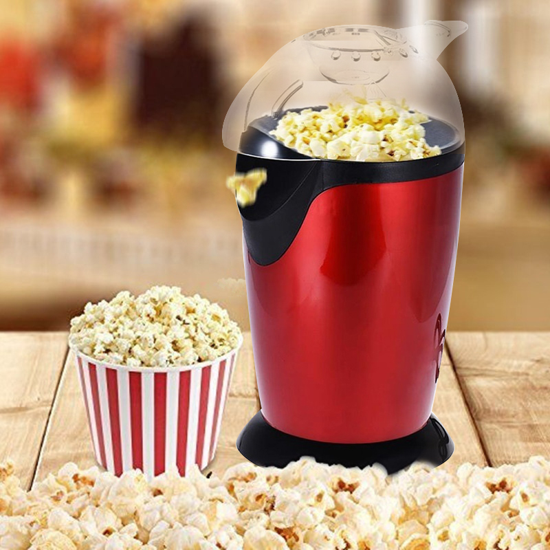 Mini Popcorn Machine Popcorn Maker Popcorn Machine Economic ABS 1200W 110V Simple To Make Desktop Household No Fuel Safety