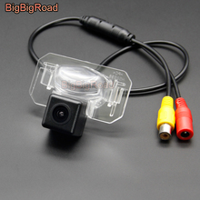 BigBigRoad Wireless Vehicle Rear View Parking CCD Camera For Honda Civic MK7 MK8 MK9 2006-2011 City 2002-2016 HD Color Image