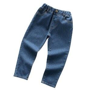 Image 5 - 2020 אביב ילדים בגדי בנות ג ינס סיבתי slim דק ג ינס תינוקת ג ינס גדול בנות ילדי ז אן ארוך מכנסיים