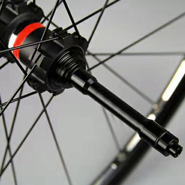 15mm To 9mm Quick Release Skewer Sturdy Replacement Outdoor Front Adapter Thru Easy Install Axle Alloy Bicycle Hub Sports
