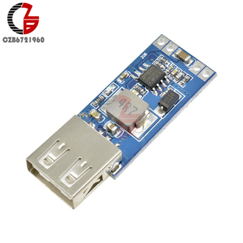 USB Step Down Power Supply Charging Module DC-DC 12V 24V to 5V Buck Converter Voltage Regulator Car Charger Charging Module image