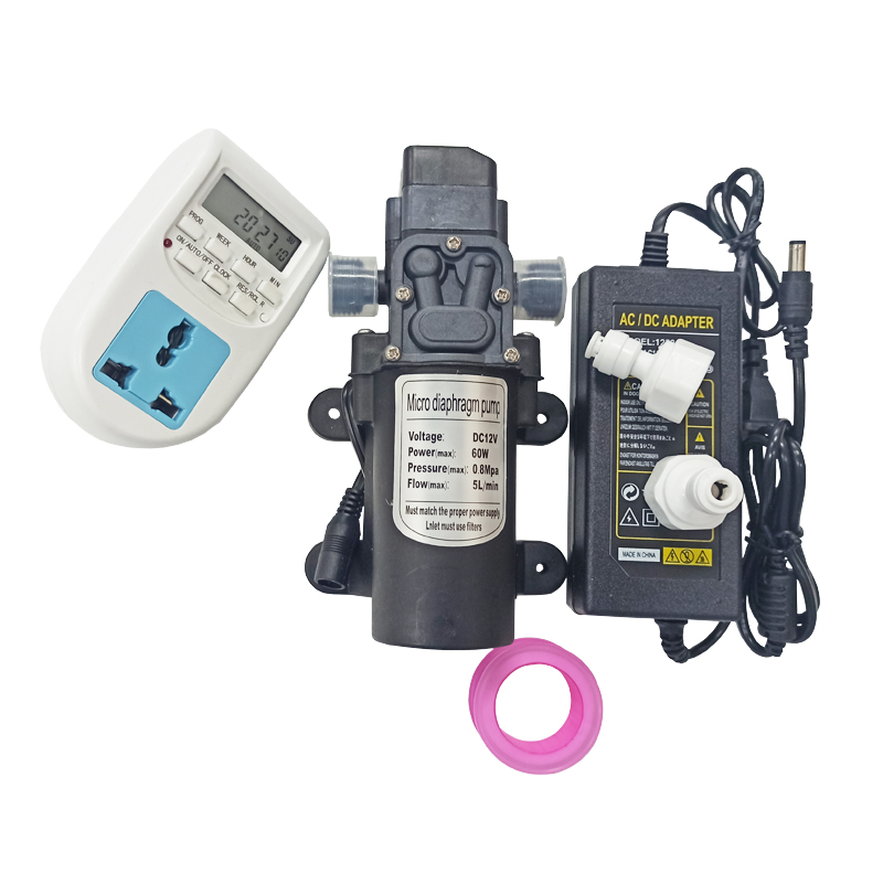 E492 Hot Sale and High Quality Outdoor Water Spray Mist Pump 12V DC Misting Pump Water Pump Sprayer ENTENCO Misting Pump