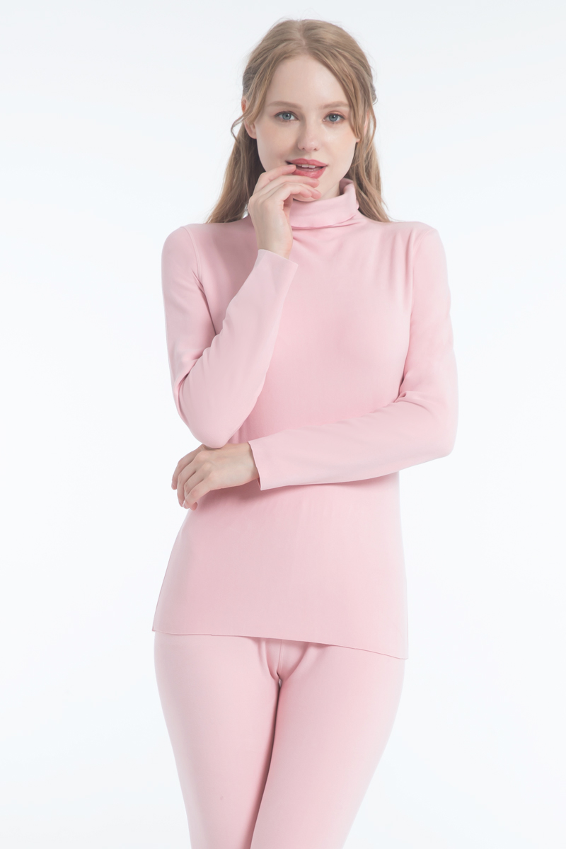 2020 double sanded napping fleece thermal underwear tops sleeves and long johns inner wear to keep warm in cold winter 3
